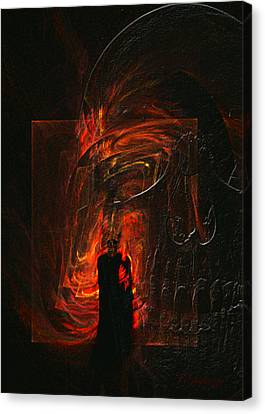 Barter For Your Soul Canvas Print by Jean Gugliuzza