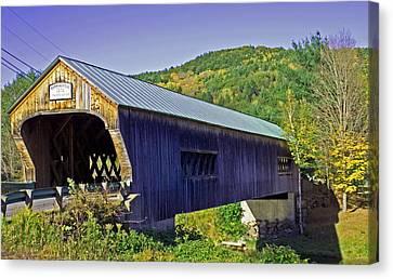 Bartonsville Bridge Canvas Print