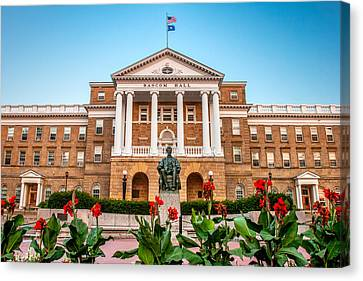 Bascom Hall Canvas Print by Todd Klassy