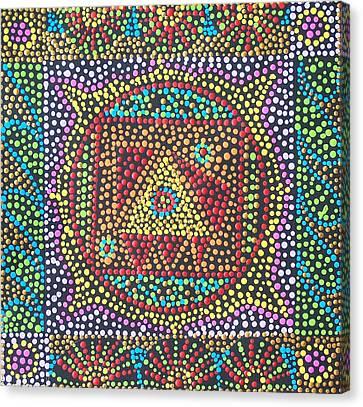 Base Chakra Canvas Print by Vijay Sharon Govender