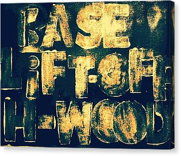 Base, Lift - Off, Hollywood Canvas Print
