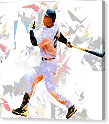 Baseball 25 Canvas Print