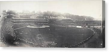 Baseball Game, 1904 Canvas Print by Granger