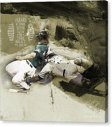 Baseball  Canvas Print by Gull G