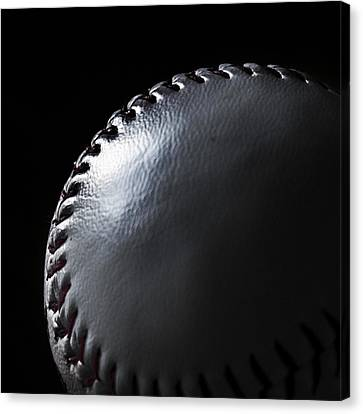 Baseball Canvas Print by Martin Newman