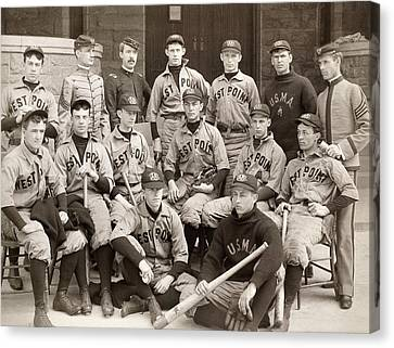 Baseball: West Point, 1896 Canvas Print by Granger