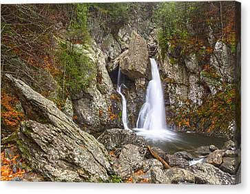 Bash Bish Falls In November 2 Canvas Print