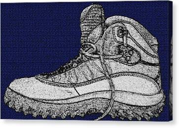 Basic Boot Canvas Print