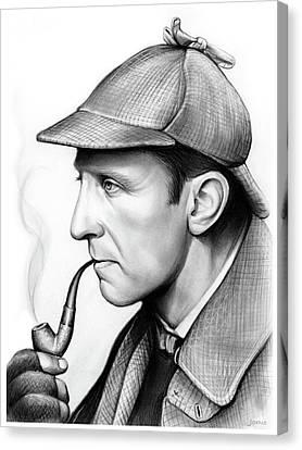 Peter Cushing Canvas Print by Greg Joens