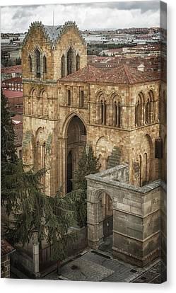Basilica De San Vicente Canvas Print by Joan Carroll