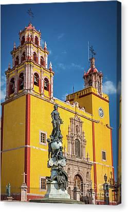 Basilica Facade Canvas Print