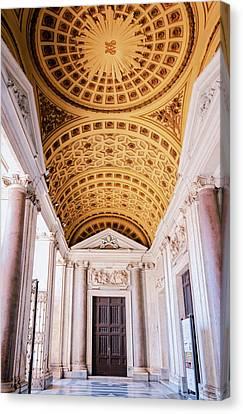 Basilica Of Santa Maria Maggiore Rome II Canvas Print