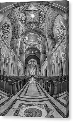 Basilica Of The National Shrine Of The Immaculate Conception IIb Canvas Print by Susan Candelario