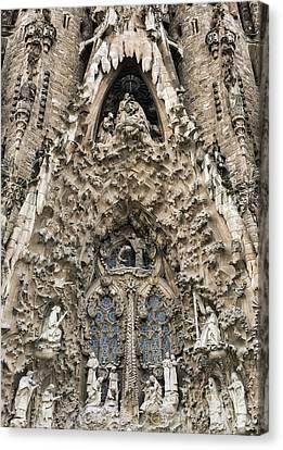 Basilica Sagrada Familia Canvas Print by John Greim