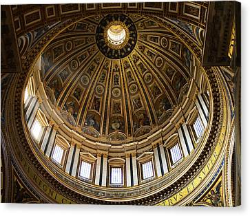 Basilica Canvas Print by Stefan Nielsen