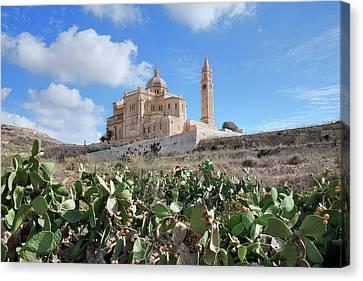 Basilica Ta Pinu - Gozo Canvas Print