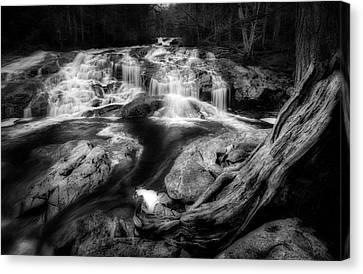 Basin Cascade Canvas Print