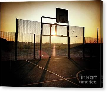Basket Ball Court Canvas Print