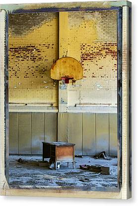 Basketball Diplomacy Canvas Print by Dominic Piperata