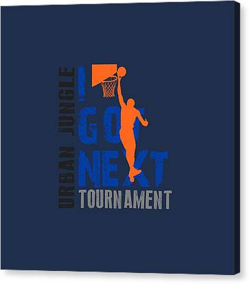 Basketball I Got Next Canvas Print by Joe Hamilton