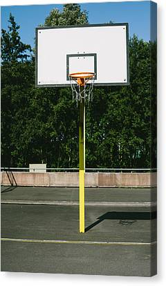 Basketball Canvas Print by Pati Photography
