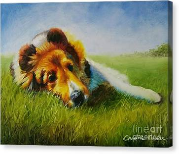 Basking Canvas Print