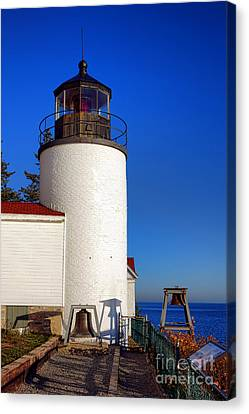 Bass Harbor Head Lighthouse Canvas Print by Olivier Le Queinec