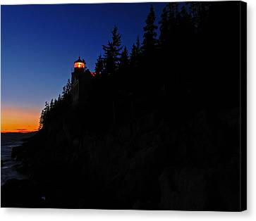 Bass Harbor Light Canvas Print by Juergen Roth