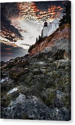 Bass Harbor Light Canvas Print