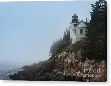 Bass Harbor Lighthouse Canvas Print by John Greim