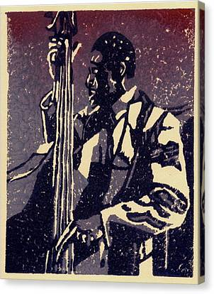 Bass Canvas Print