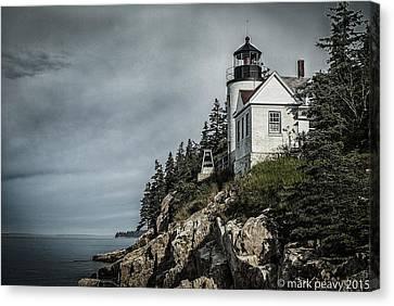 Bass Lighthouse Maine Canvas Print