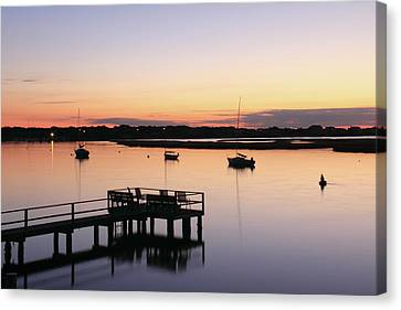 Bass River Before Sunrise Canvas Print by Roupen  Baker