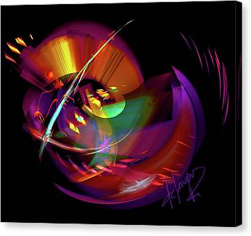 International Bass Station Canvas Print by DC Langer