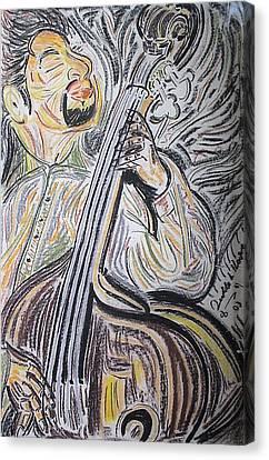 Bassman Canvas Print by Diallo House
