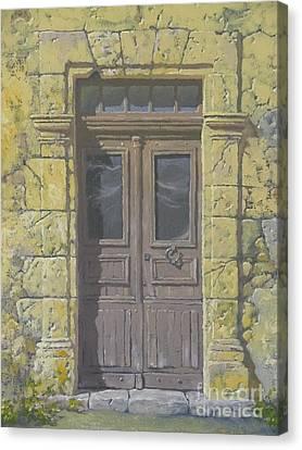 Bassous Door Canvas Print by Uwins Francis