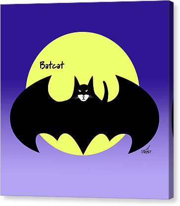 Batcat Canvas Print