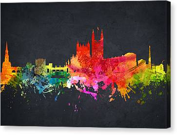 Bath Cityscape 07 Canvas Print