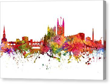 Bath Cityscape 08 Canvas Print