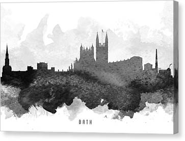 Bath Cityscape 11 Canvas Print by Aged Pixel