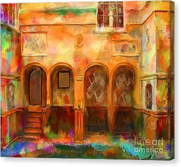 Bath England Canvas Print by Marilyn Sholin