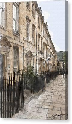 Bath Street Canvas Print