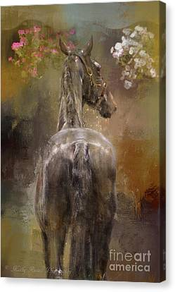 Bath Time Canvas Print by Kathy Russell
