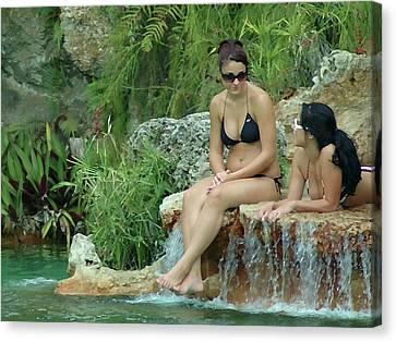 Bathing Beauties Canvas Print