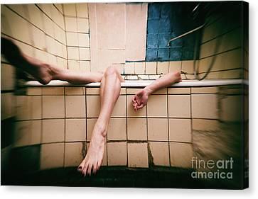 Bathroom #7866 Canvas Print