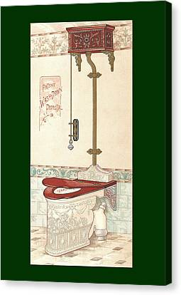 Bathroom Picture Two Canvas Print by Eric Kempson