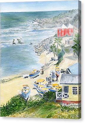 Bathsheba Lookout Canvas Print
