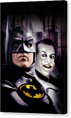 Batman 1989 Canvas Print by Unknown