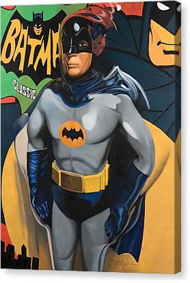 Batman Canvas Print by Karl Melton