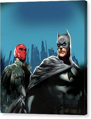 Batman Under The Red Hood 2010  Canvas Print by Unknown